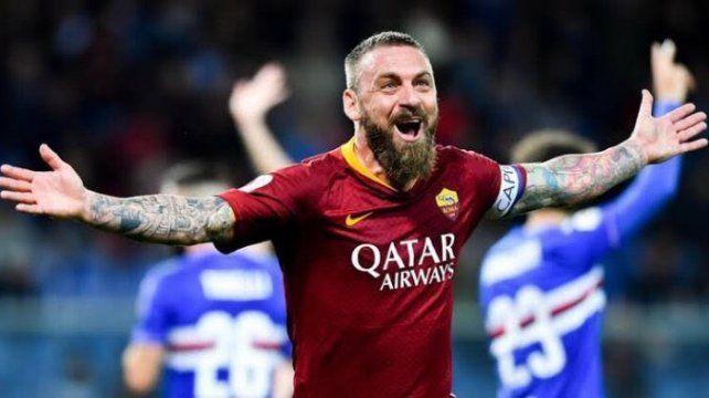 De Rossi jugó 17 temporadas en la Roma.