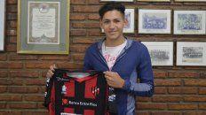 El juvenil firmó el contrato en octubre pasado.