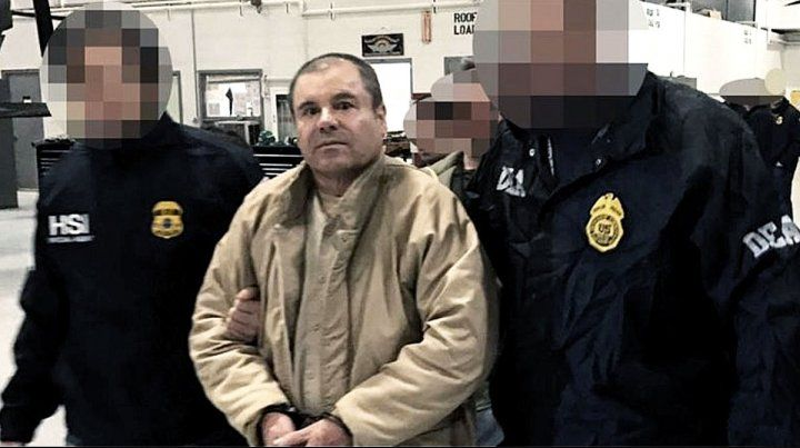 Condenaron a cadena perpetua al Chapo Guzmán