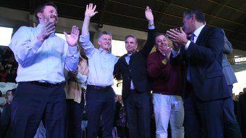 macri: los argentinos pusimos primera y no volvemos atras