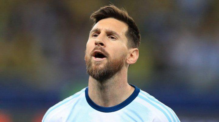 Más de la defensa de la AFA sobre Messi ante Conmebol