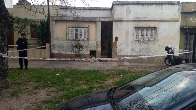 La vivienda en la que ocurrió el crimen.