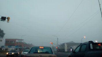 La niebla fue protagonista