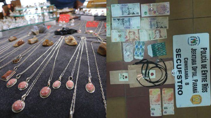 Pagó con billetes de $1.000 falsos en las carpas de artesanos