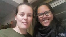Más que amigas. Jésica y Mónica contaron su historia, la que las sorprendió cuando eran chicas.