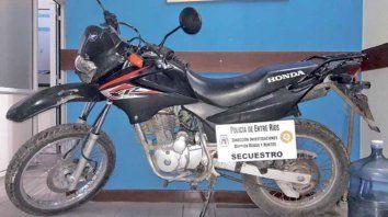 extorsionar con el rescate de una moto tras el robo es el modo mas frecuente