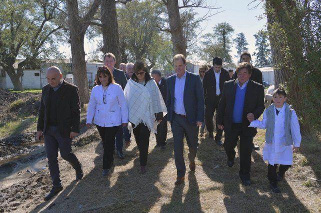 Apuestan al desarrollo de las juntas de gobierno con inversión en obras