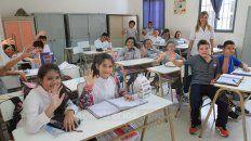 Regreso. Luego de disfrutar de las vacaciones, los alumnos y el personal docente vuelven a las aulas.