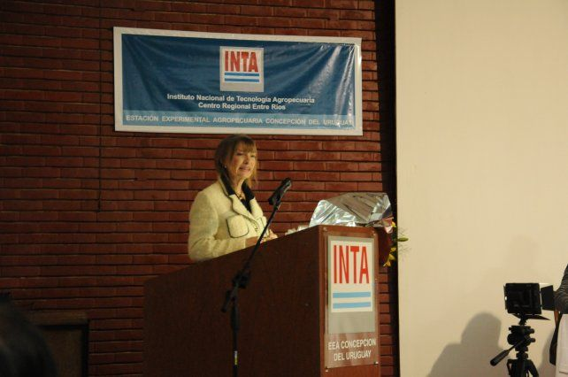 Nueva directora en la estación experimental del INTA Concepción