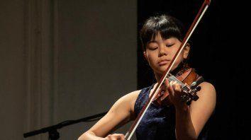 Una joven violinista japonesa se presentará el jueves en el Teatro 3 de Febrero
