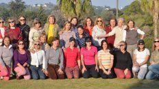 Celebraron el día del amigo a puro golf
