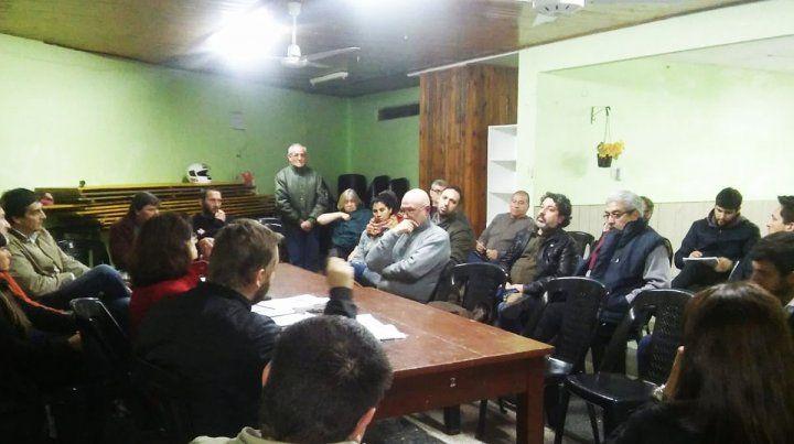 Asamblea Vecinal lleva el reclamo a la sesión de Diputados