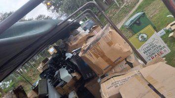 residuos electronicos: ya se recolectaron 188.000 kilos