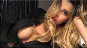 charlotte caniggia reacciono por la supuesta amante de su papa