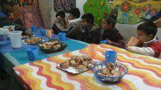 por el hambre proliferan los merenderos