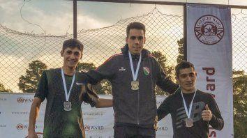 dos entrerrianos campeones argentinos de cross country