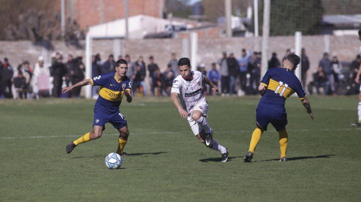 Patronato empató con Boca 1 a 1 en Reserva