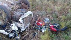 una adolescente fallecio en un accidente