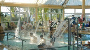 Fuerte atractivo. Las termas entrerrianas son un producto que tracciona un importante caudal de visitantes.