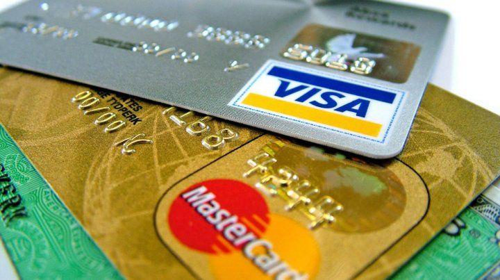Controlarán movimiento de las tarjetas de crédito