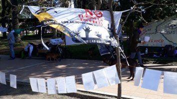 repudiaron el decreto que regula fumigaciones