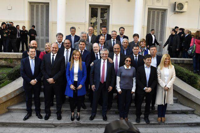 Fernández firmó con Bordet su compromiso con puntos estratégicos