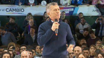 macri cerro la campana: los argentinos somos imparables
