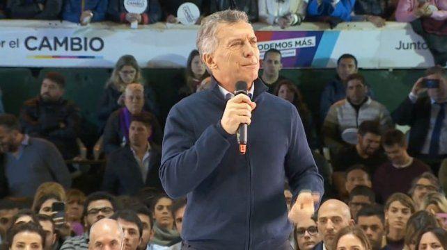 Macri cerró la campaña: Los argentinos somos imparables