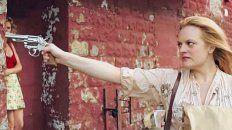 Desatada. Elisabeth Moss interpreta a Claire, que pasa del maltrato y la sumisión de su marido al liderazgo.