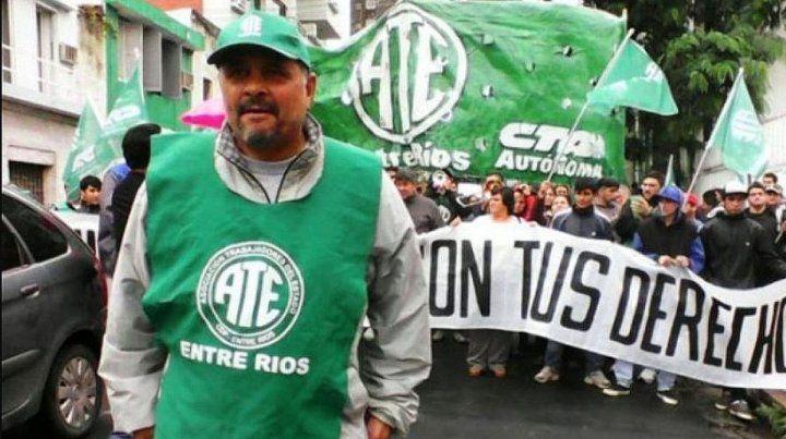 Oscar Muntes retuvo la conducción de ATE