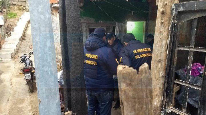 Prófugo. El acusado fue detenido en la casa de un pariente. Foto: Javier Aragón