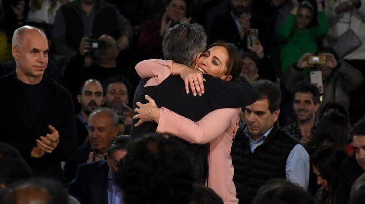 Cierre de campaña. Macri y Vidal pidieron el voto a los bonaerenses. Infobae