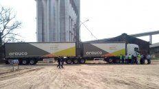 Rendimiento. Los nuevos equipos suman beneficios para los productores y cargas para el puerto.