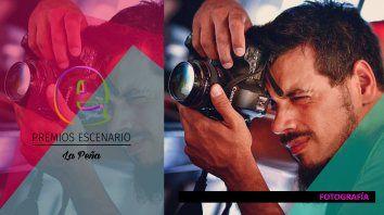 el arte fotografico tendra su espacio en la pena de los premios escenario