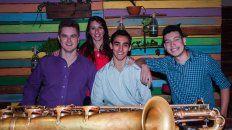 cuarteto de saxos 1846, en el ciclo jazz en la casa de la cultura