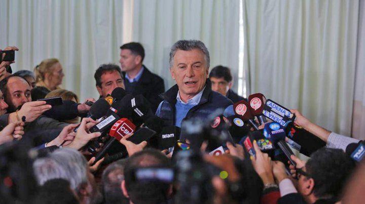 Macri: Los mercados esperan que sigamos en el mismo camino