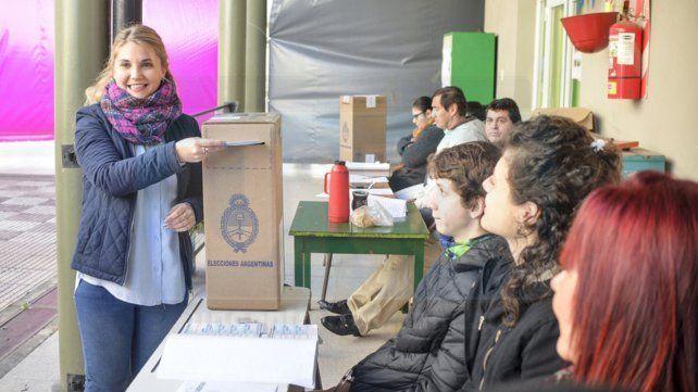 El voto de los candidatos justicialistas en Paraná