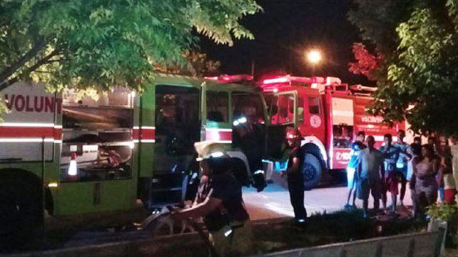 Una persona de 27 años murió en un incendio