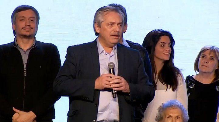 Fernández: Se dieron cuenta que nosotros eramos el cambio y no ellos