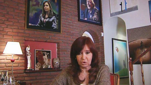 El mensaje de Cristina Kirchner