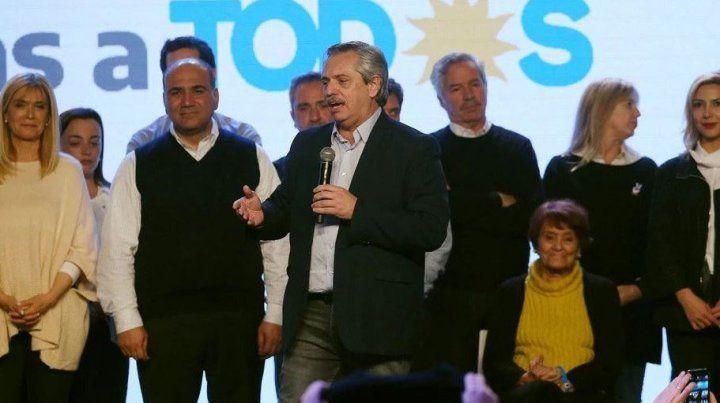 Entre Ríos acompañó con moderación el triunfo inapelable de Fernández
