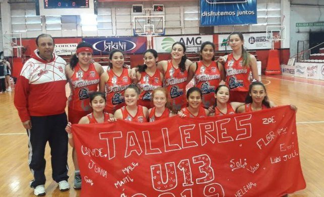 Talleres U13 finalista de la Liga Provincial