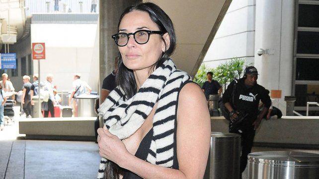La actriz Demi Moore se confiesa en su autobiografía