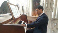 invitan a un concierto de organo en la catedral de parana
