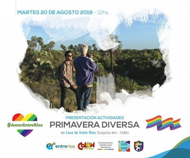 Primer fin de semana de turismo LGBT en Entre Ríos