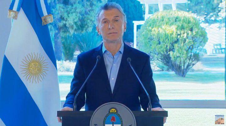 Macri: Estuve triste y sin dormir por las elecciones del domingo