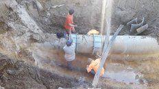 se restablece el servicio de agua en al ciudad