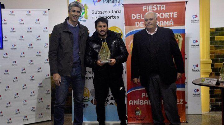 Nicolás Giorello fue el DT de la Selección Entrerriana U19 que ganó el campeonato Argentino.
