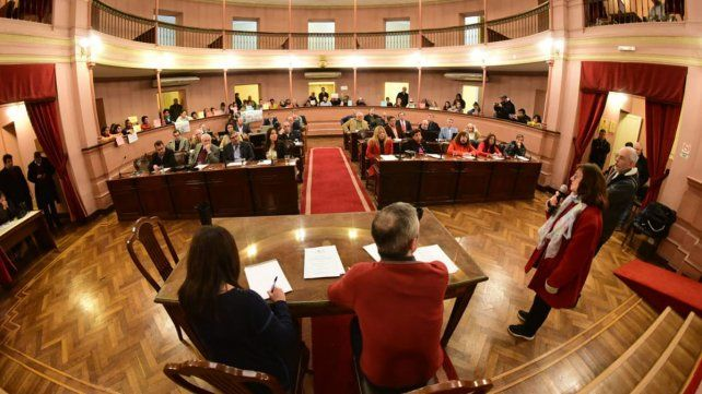 La Asamblea Vecinal estuvo este martes en la Cámara de Diputados.