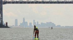 Juliette Duhaime ganó en Damas Elite la carrera SEA Paddle NYC 2019